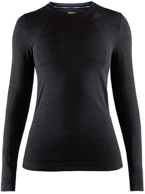 Craft Fuseknit Comfort Roundneck LS Shirt Women black